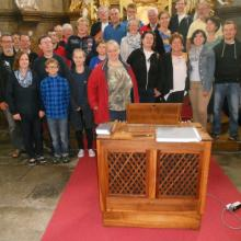 Teilnehmer der Orgelwoche 2016
