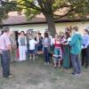 Gruppenfoto der Orgelwoche 2013